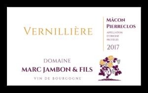 Vernillière - Mâcon-Pierreclos Rouge - Domaine Marc JAMBON et Fils - PIERRECLOS