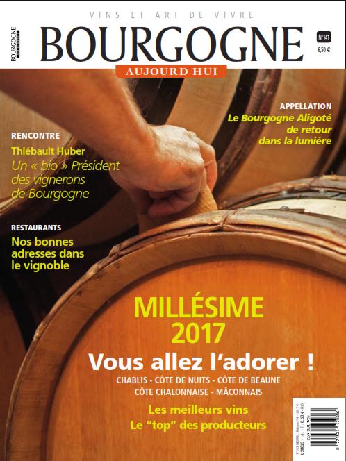 Bourgogne Aujourd'hui N° 141
