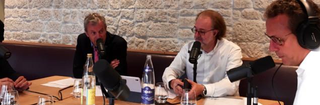 Phillipe FAURE-BRAC - Alain MARTY - Emission IN VINO - Sud Radio - Domaine Marc JAMBON et Fils - Macon-Pierreclos Rouge 2015