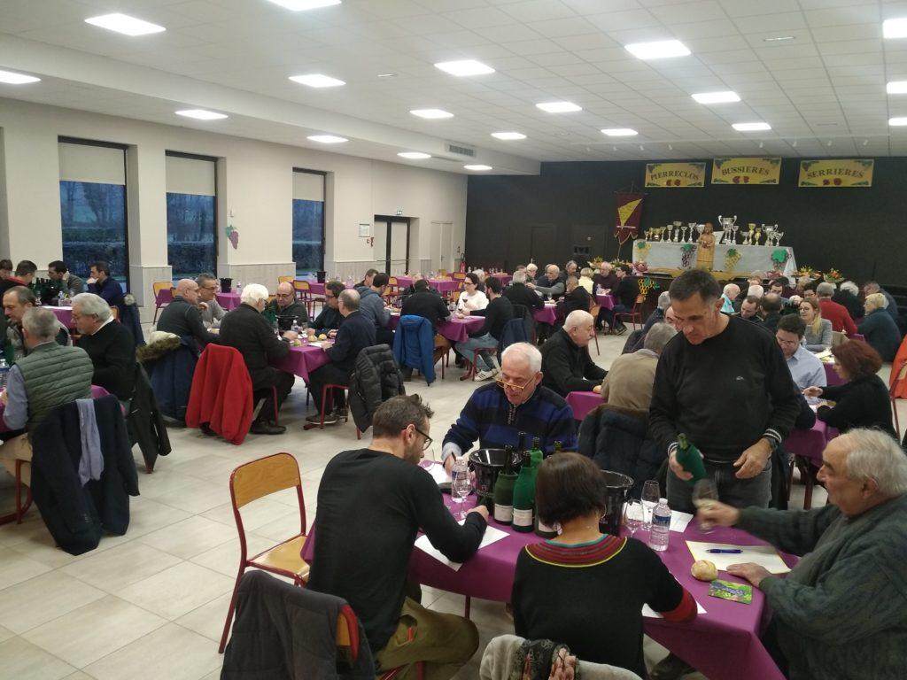 Saint-Vincent Pierreclos-Bussières-Sérrières 2020 - Le concours